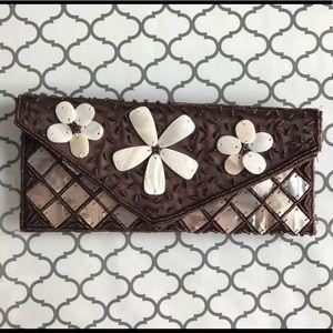 Handbags - Beaded Wallet NWOT